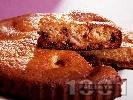 Рецепта Сладкиш с праскови и парченца шоколад